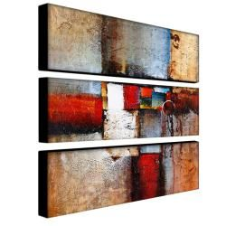 @Overstock - Jazz up a plain wall with this abstract three-piece art set by Rio. Hang each piece individually, or group them together to add interest and catch the eye. The work features vibrant shades of red, blue, and neutral tones which will brighten up any room.http://www.overstock.com/Home-Garden/Rio-Cube-Abstract-VI-3-piece-Art-Set/5781836/product.html?CID=214117 $99.99