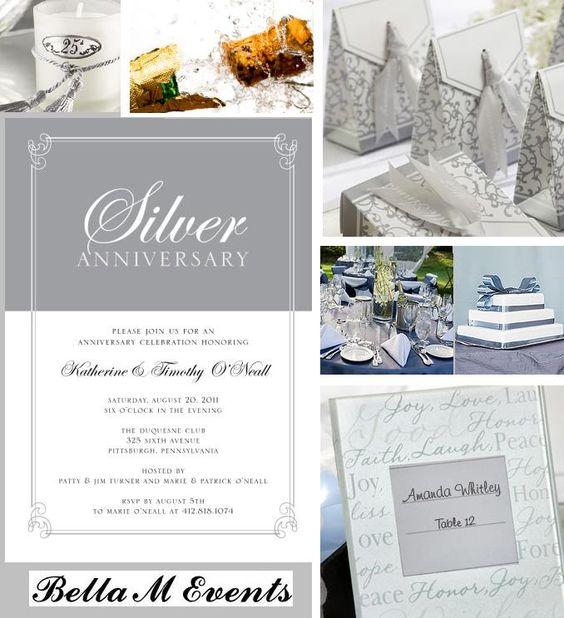 25th Wedding Anniversary Gifts Pinterest : ... 25th wedding anniversary wedding anniversary anniversaries anniversary