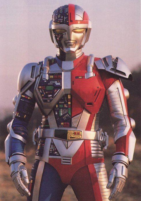 Metalder, clássico da Toei Company de 1987. Inspirado em Kikaider, de Shotaro Ishinomori, trouxe mais densidade e drama ao mundo dos super-heróis da TV.