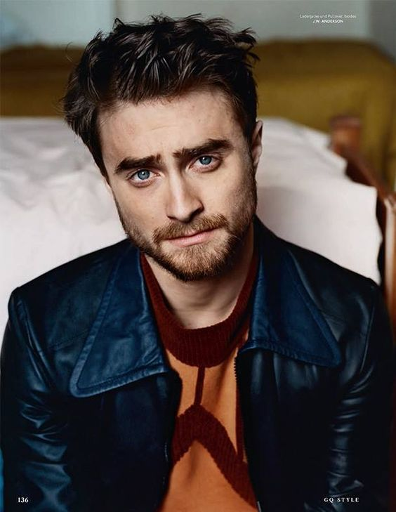 Daniel Radcliffe for GQ Style Germany, 2015. Photographed by Paul Wetherell/ Styled by Tobias Frericks.