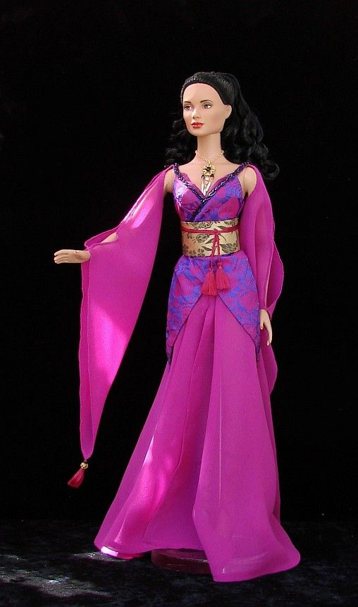 Inara Serra -  ooak costume from Firefly for 16 Tonner doll