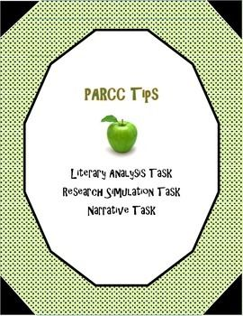Parcc prep   literacy cookbook