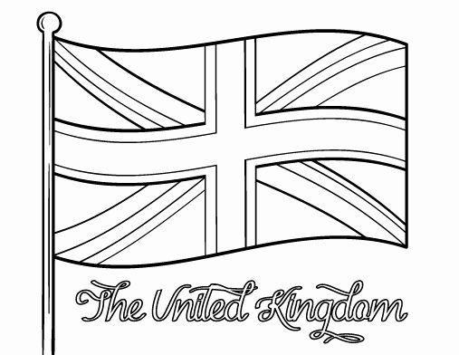 Uk Flag Coloring Page Best Of Pin By Muse Printables On Coloring Pages At Coloringcafe Flag Coloring Pages Britain Flag Great Britain Flag