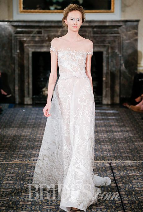 Brides: Mira Zwillinger Wedding Dresses   Spring 2016   Bridal Runway Shows   Brides.com | Wedding Dresses Style