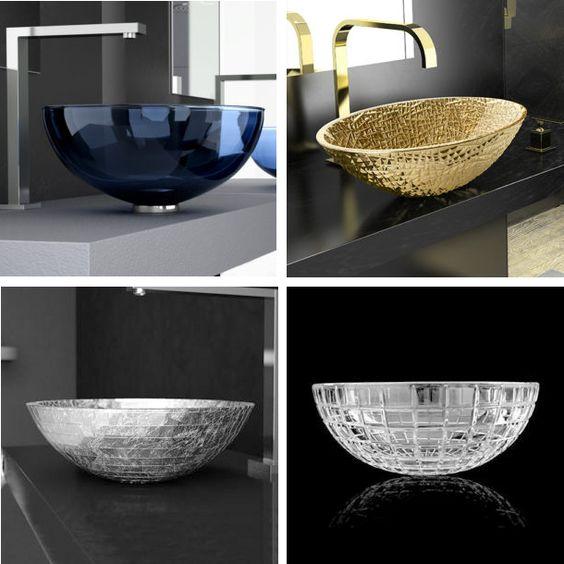 Flawless Blue White Shower Design