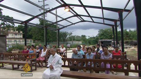 Pope -Cuba  - Al Jazeera Sept. 2015