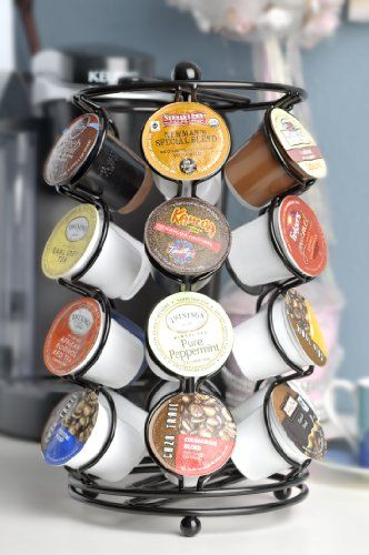 The Neat-O Carousel for K-Cups elegantly displays all your favorite K-Cups. The spinning base base rotates 360-degree, making it extremely easy to ...