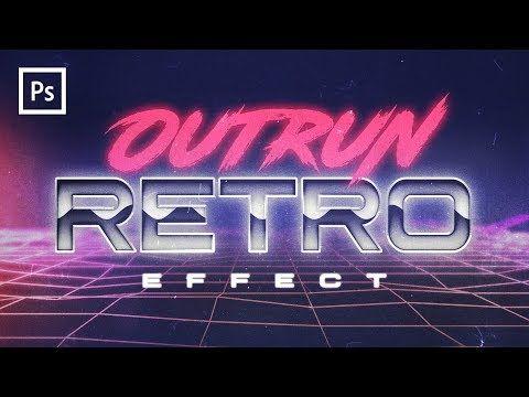 Photoshop Tutorials 80s Retro Text Effect Youtube Photoshop Tutorial Text Retro Text Photoshop Tutorial Typography