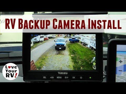 Installing A Haloview Wireless Rv Backup Camera Model Mc7108 Backup Camera Installation Rv Backup Camera Backup Camera