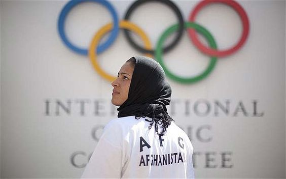 Tahmina Kohistani - London 2012 Olympics: Tahmina Kohistani, Afghanistan's only female competitor, on her 'special' experience