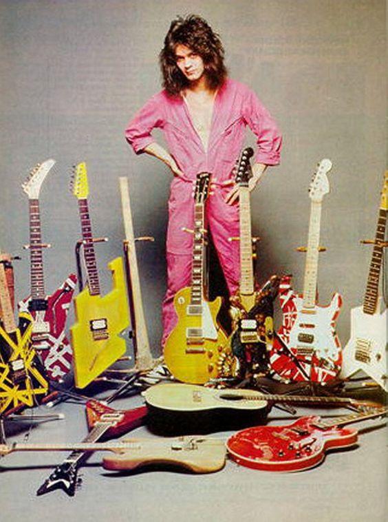 eddie van halen | Guitar collection