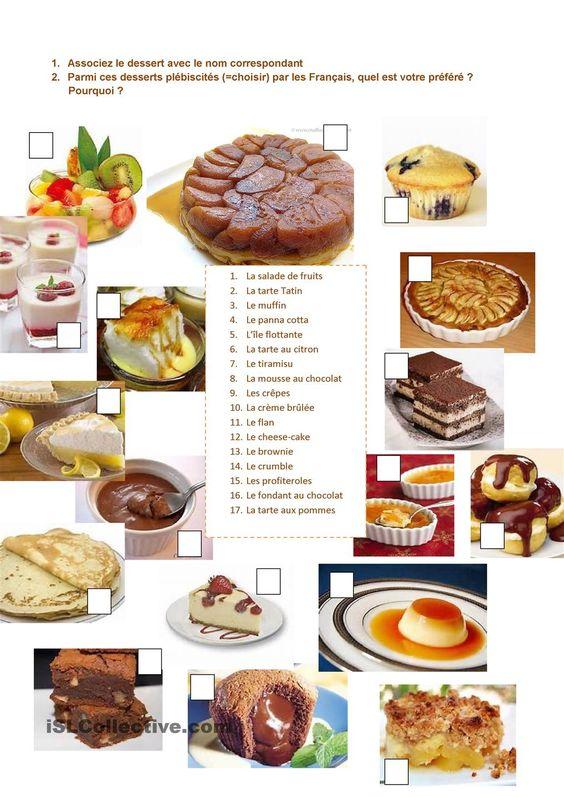 Les desserts pr f r s des fran ais restaurant for Apprendre la cuisine francaise