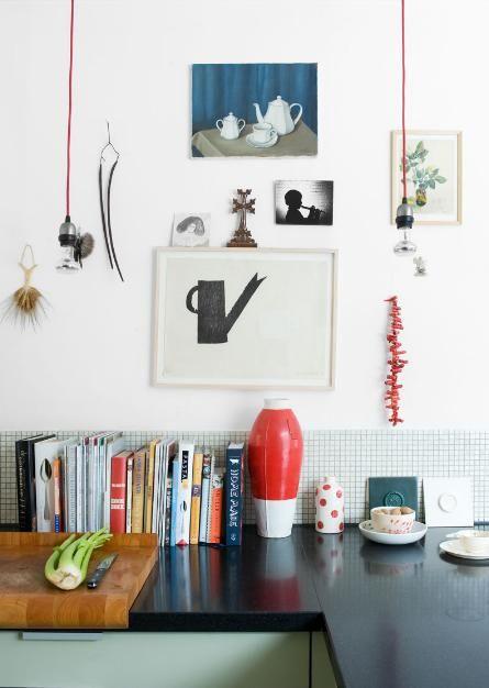 kitchen. Photo by Marjon Hoogervorst. Via seesaw.