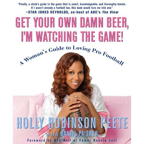 How I learned about football years ago...love Holly Robinson Peete!