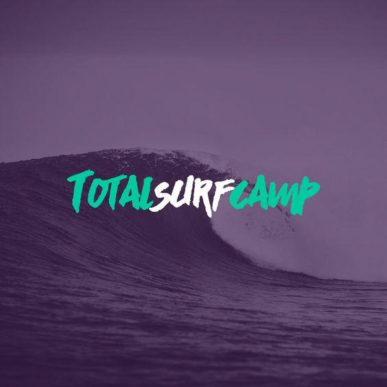Rediseñamos el #logo de TotalSurfcamp, directorio de surf camps.