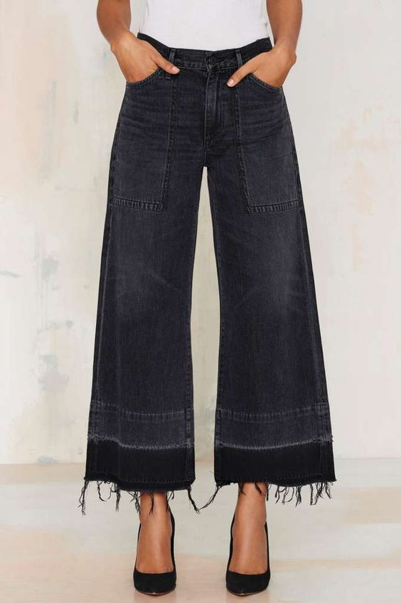 you could rock these crop jeans ~: