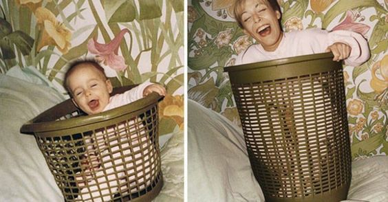 Childhood Photos Recreated. The ultimate trip down memory lane...