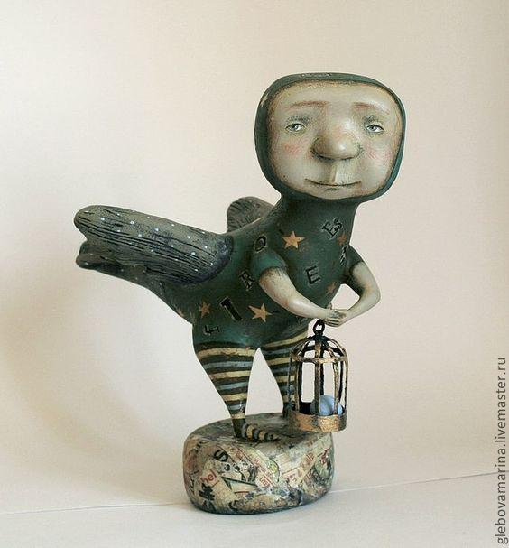 Daddy Bird by Marina Glebova: