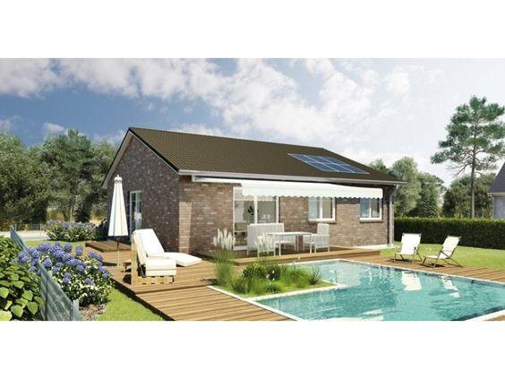 Massivhaus bungalow satteldach  Kolding - klassisches Bungalow von HELMA Eigenheimbau AG | HausXXL ...