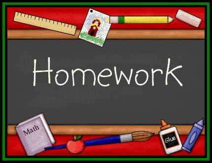 Blog: Parent Homework