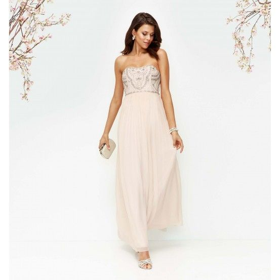Priscilla Lim, thank you for introducing me to this brand!  Riley Embellished Bodice Maxi Dress