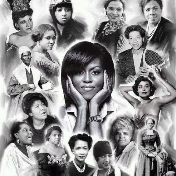 African American Women Representing Change... Love!