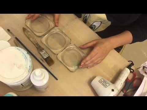 14 Decoupage On Glass ديكوباج على الزجاج Youtube Decoupage Toot