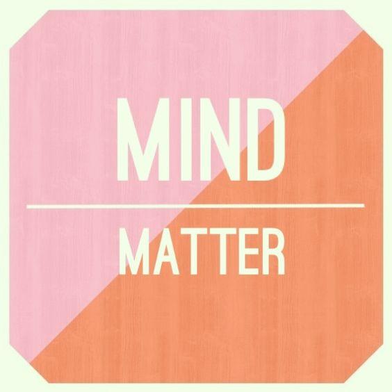 mind over matter. La energia #Acuario es mente sobre materia.