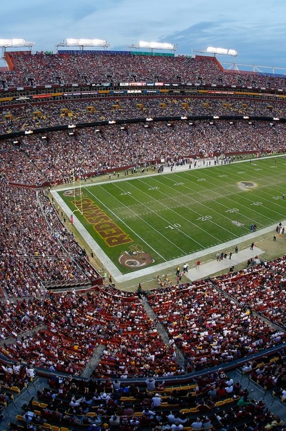 Fedex Field Seating Chart Virtual View Di 2020