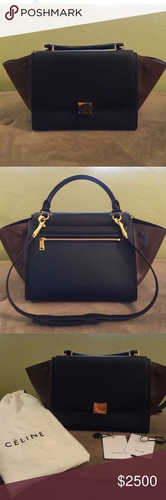 shop celine bags - celine medium tricolor trapeze bag, celine pink bag price