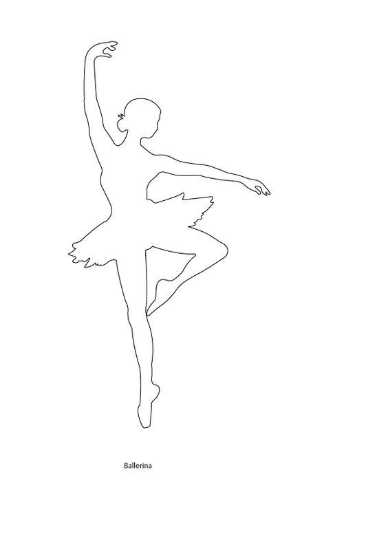 Dit is het silhouet van een danseres: de 1e laag. Daarop komen nog een aantal lagen (kleding, schoenen, haar) waardoor er een reliëf ontstaat.
