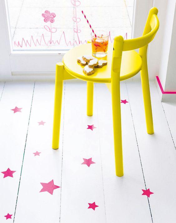 Stars on the floor, sigh...