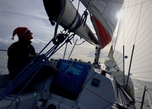 Xmas Race Une Belle Fete A Terre Comme Sur L Eau En Perspective Le Weekend Prochain La Societe Des Regates Rochelaise Deriveurs Planche A Voile Catamaran