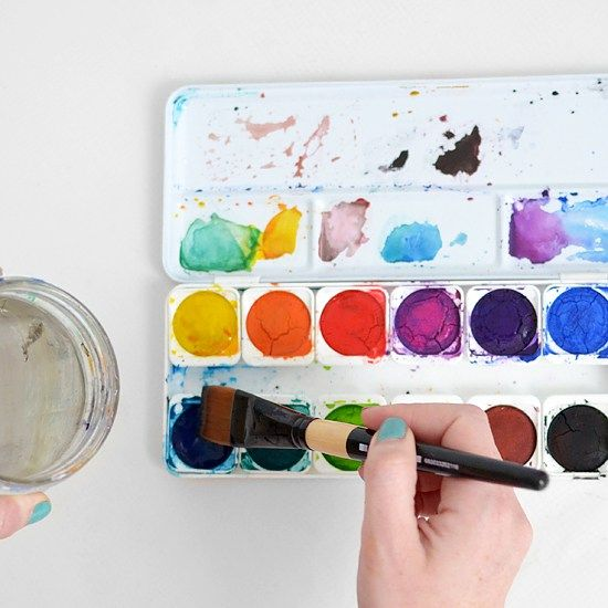 The Craft Room Diaries Watercolor Art Diy Watercolor Art