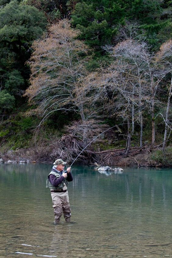 steelhead fishing on the eel river mendocino county