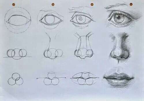 How To Draw Lips Dessin Visage Comment Dessiner Un Visage Yeux Dessin