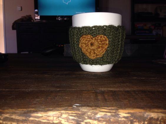 Coffee mug cozy I made!