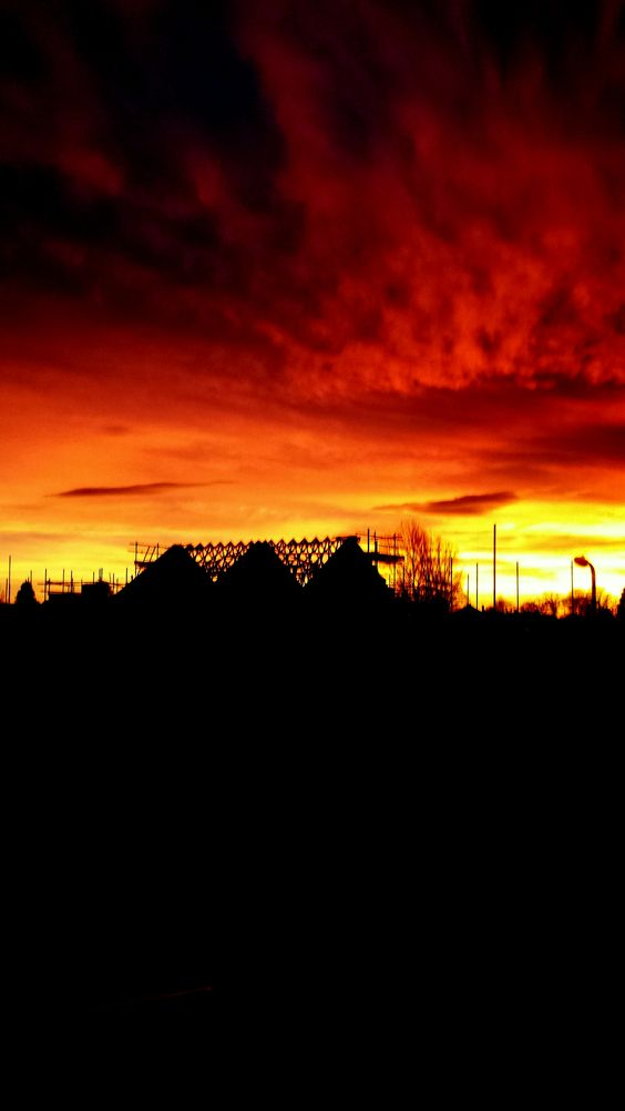 Another Sunset over Waddington