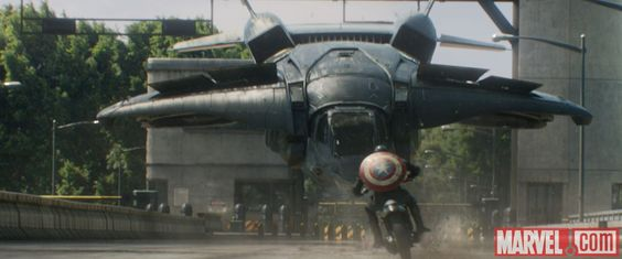 Captain America rides back into action in Marvel's Captain America: The Winter Soldier