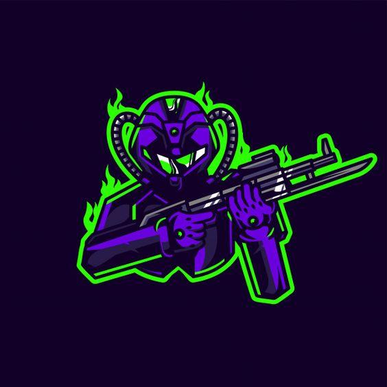 Logotipo do jogo esport soldado Vetor Premium | Premium Vector #Freepik #vector #logotipo #esporte #desenho-animado #logos