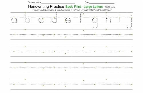 Attractive preschool handwriting worksheets Awesome