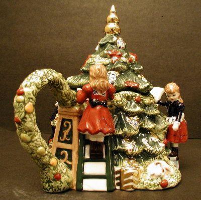 Waterford Christmas Tree Teapot