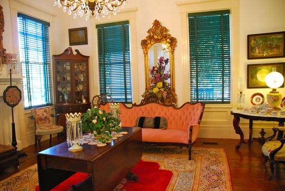Old Southern Interiors Southern Historic Home Antique
