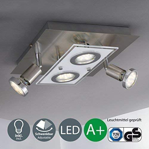 B K Licht Plafonnier Led Spots Orientables Eclairage Interieur Moderne Lumiere Chambre Salon Couloir Blanc Cha Eclairage Interieur Plafonnier Led Luminaire