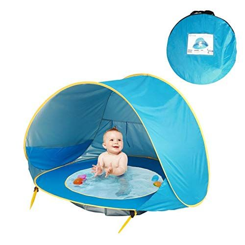Kids Play Tents Tunnels In 2020 Baby Beach Tent Baby Tent Beach Tent