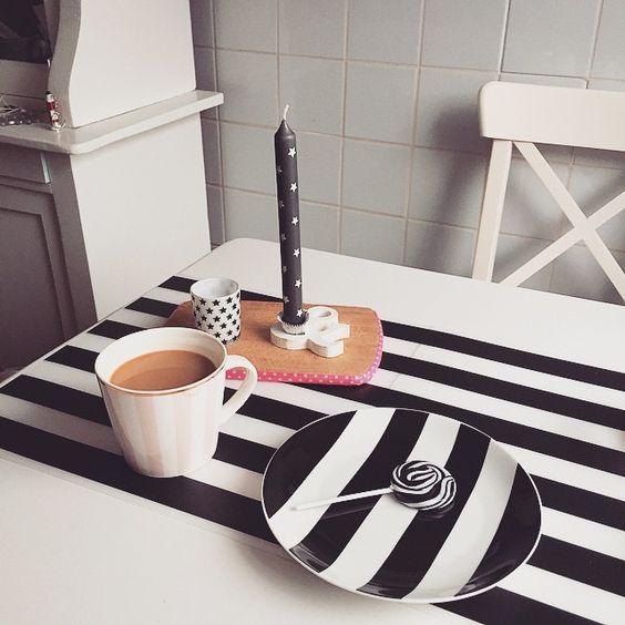 """""""#frühstück #monochrome ⬜️⬛️⬜️⬛️ #sniadanie #monochromatyczne ⬜️⬛️⬜️⬛️ #home #deko #decor #dekor #design #dekoracje #kawa #kubek #küche #kaffee #Kerzen…"""""""