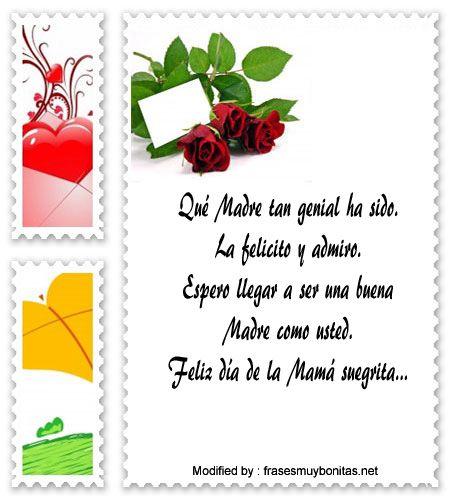 Lindas Frases A Mi Suegra Por El Dia De La Madre Feliz Dia De La