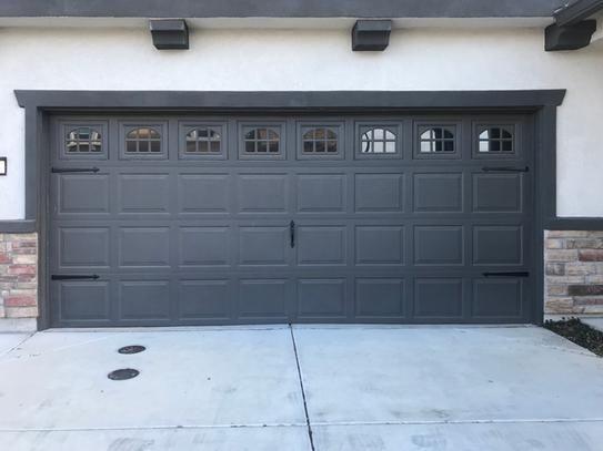 Everbilt Premium Decorative Black Garage Door Hardware Kit 10100 The Home Depot Garage Doors Garage Door Hardware Garage Door Styles