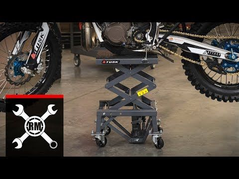 Shop For Stands And Lifts Like Tusk Scissor Lift Stand At Rocky Mountain Atv Mc We Have The Best Prices On Dirt Bike Atv And Mo In 2020 Scissor Lift Bike Stand