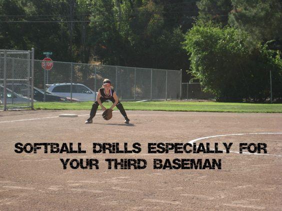 Softball Drills to Work on With Your Third Baseman : Softball Spot